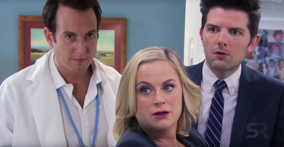 TV Moments, The season 2 of Parks and Recreation, where Chris tells Leslie she was capable of having triplets during their blind-date.