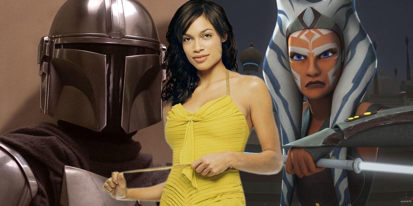 Star Wars: Rosario Dawson Wants to Play Ahsoka in The Mandalorian