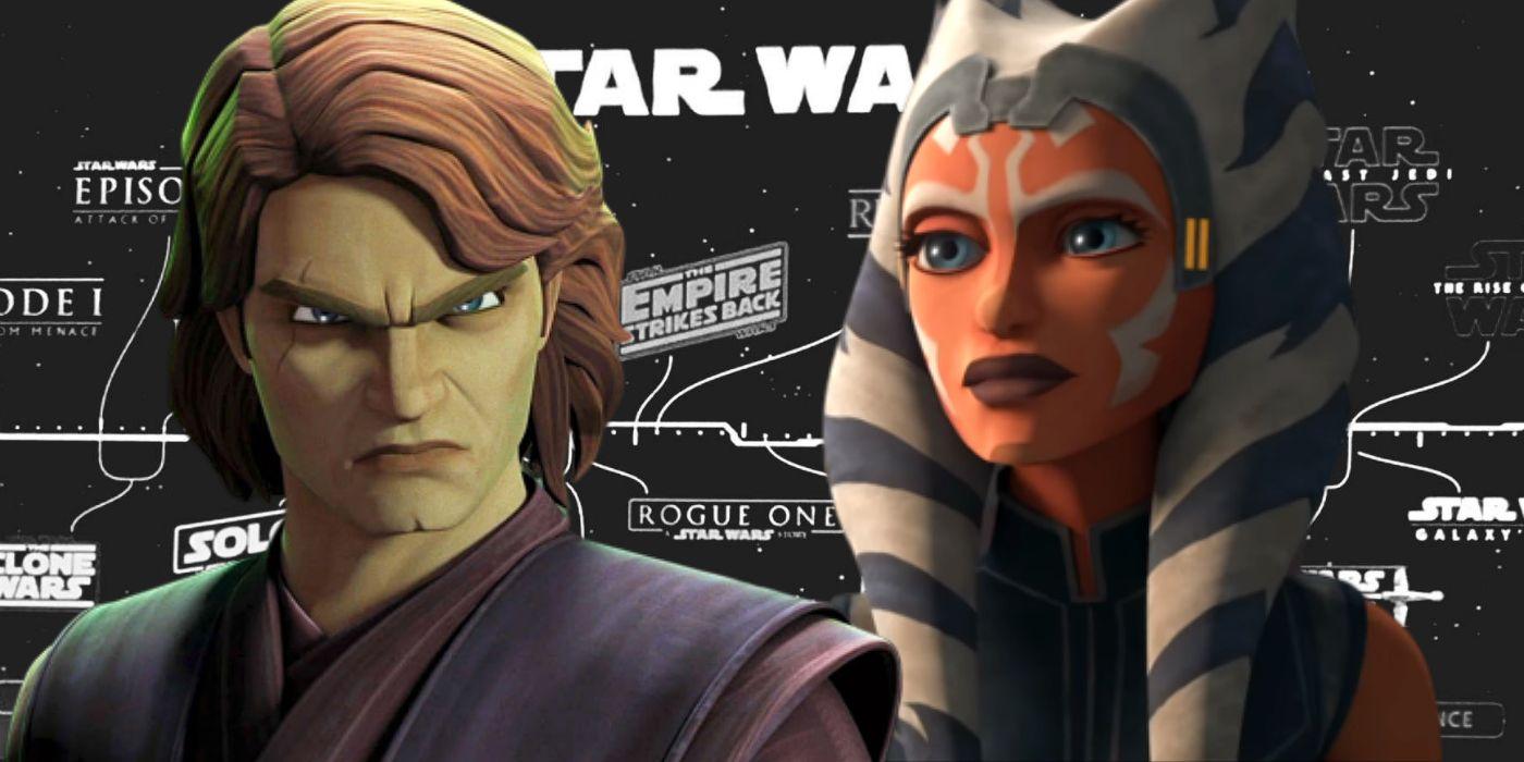 Disney+ Celebrates Clone Wars Premiere With Handy Star Wars Timeline
