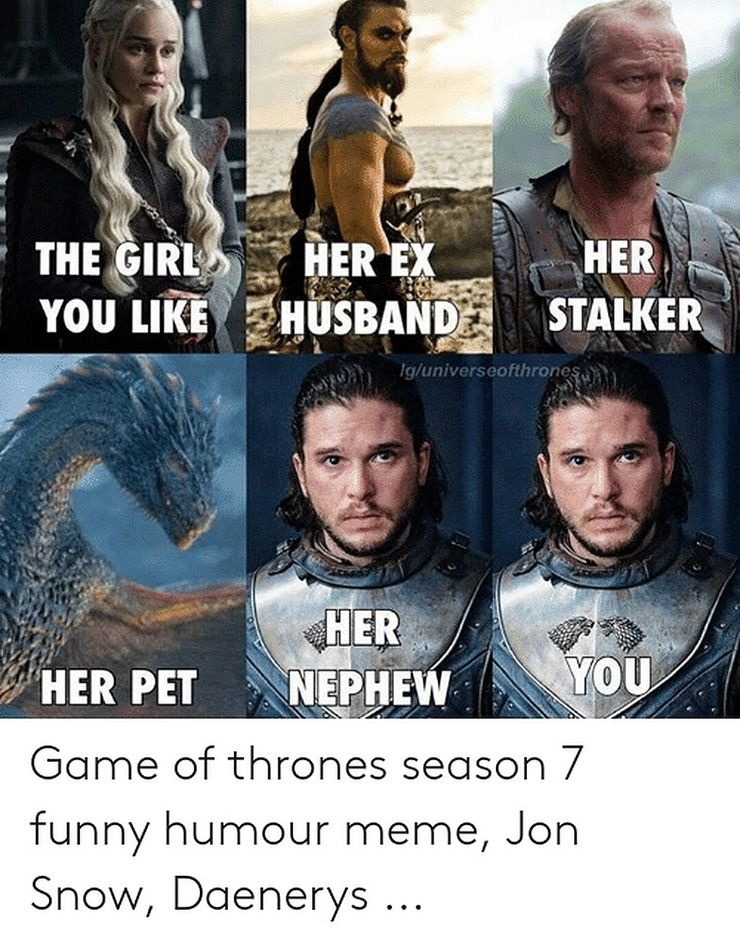 Game Of Thrones 10 Hilarious Jon Snow Memes That Will Have You
