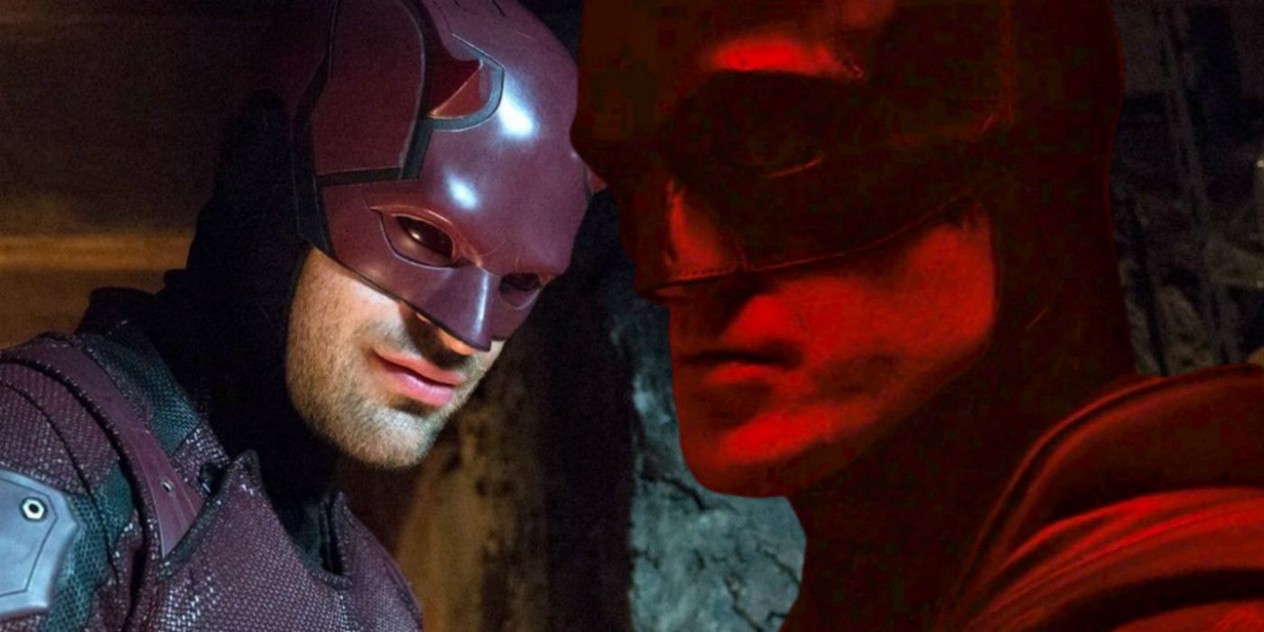 Why Robert Pattinson's Batman Looks So Much Like Daredevil
