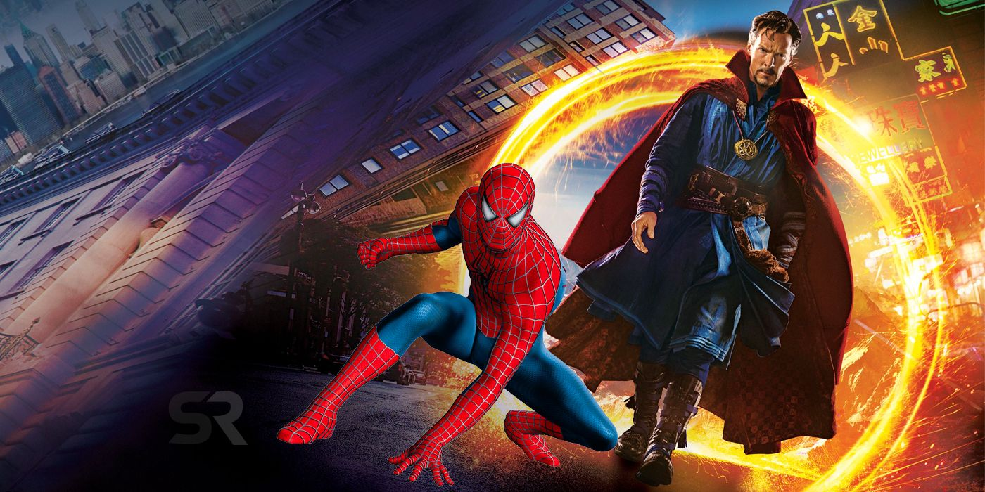 Doctor Strange 2 Bosslogic Poster Imagine's Tobey Maguire's Spider-Man Joining The Mcu