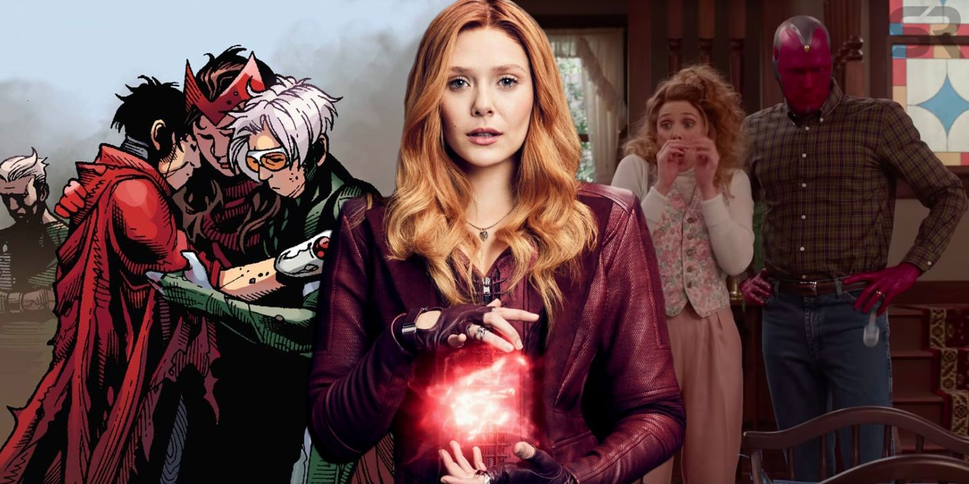 WandaVision: Scarlet Witch's Pregnancy (& Young Avengers Setup) Explained
