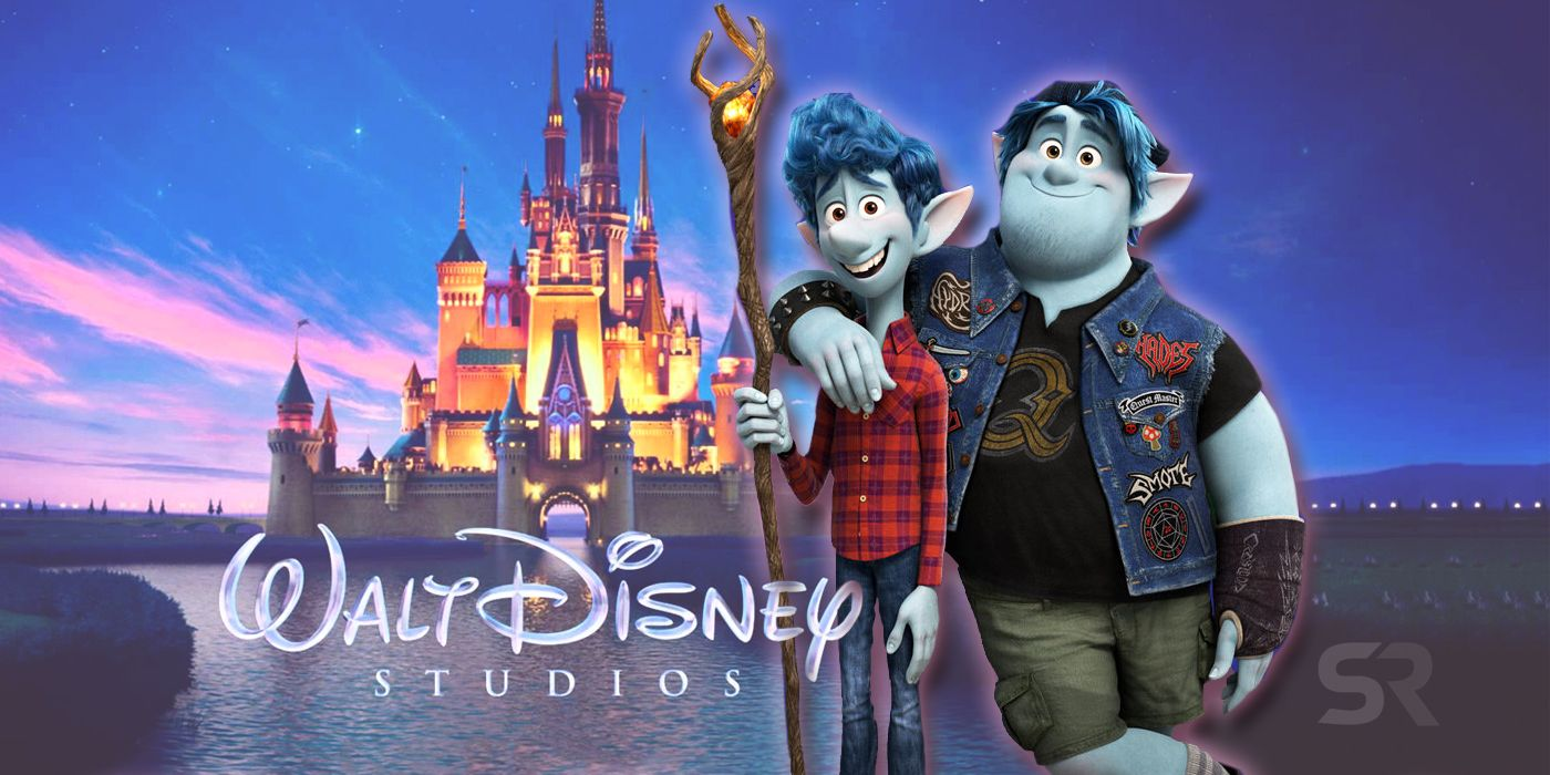 Every Disney Movie Referenced In Pixar's Onward  Screen Rant