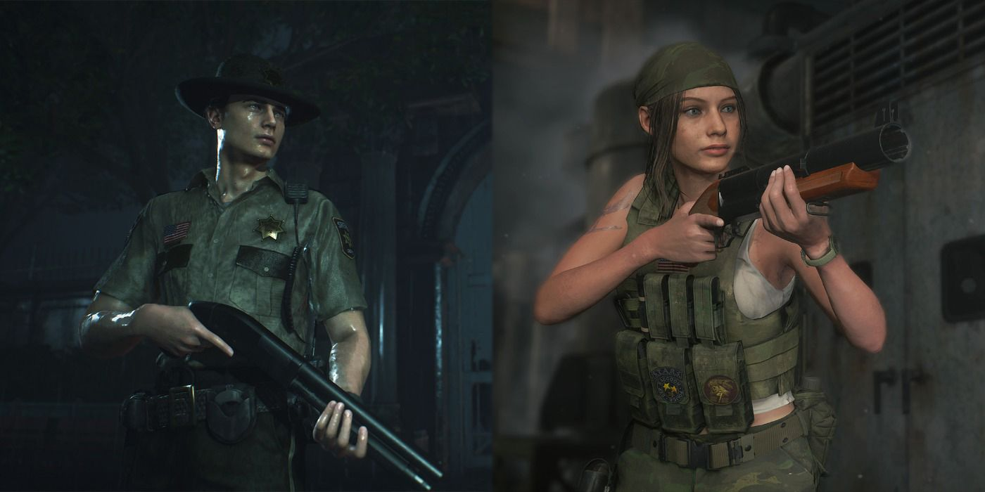 Resident Evil 2 Remake How To Change Your Costumes Screen Rant
