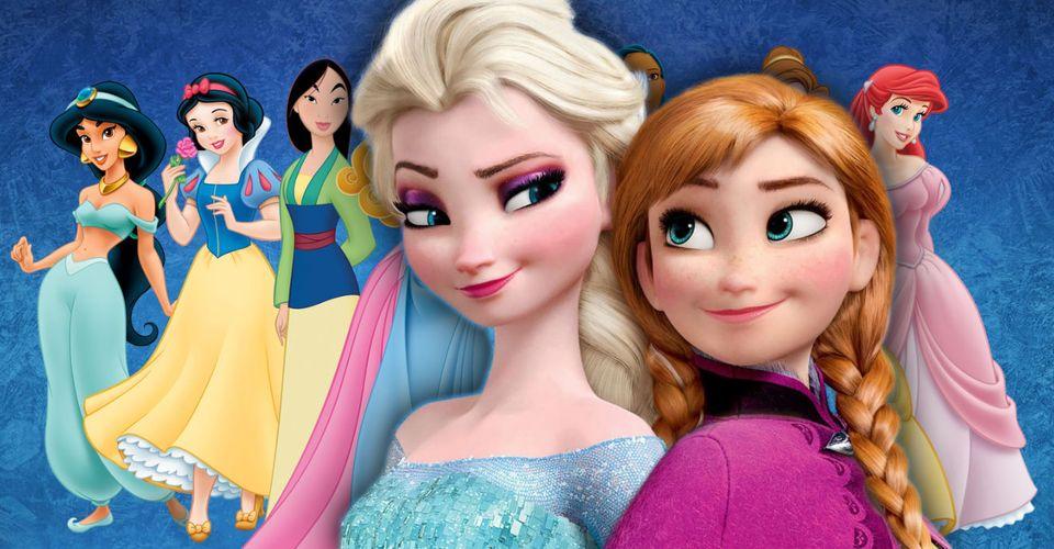 Frozen Why Anna Elsa Are Not Disney Princesses Screen Rant