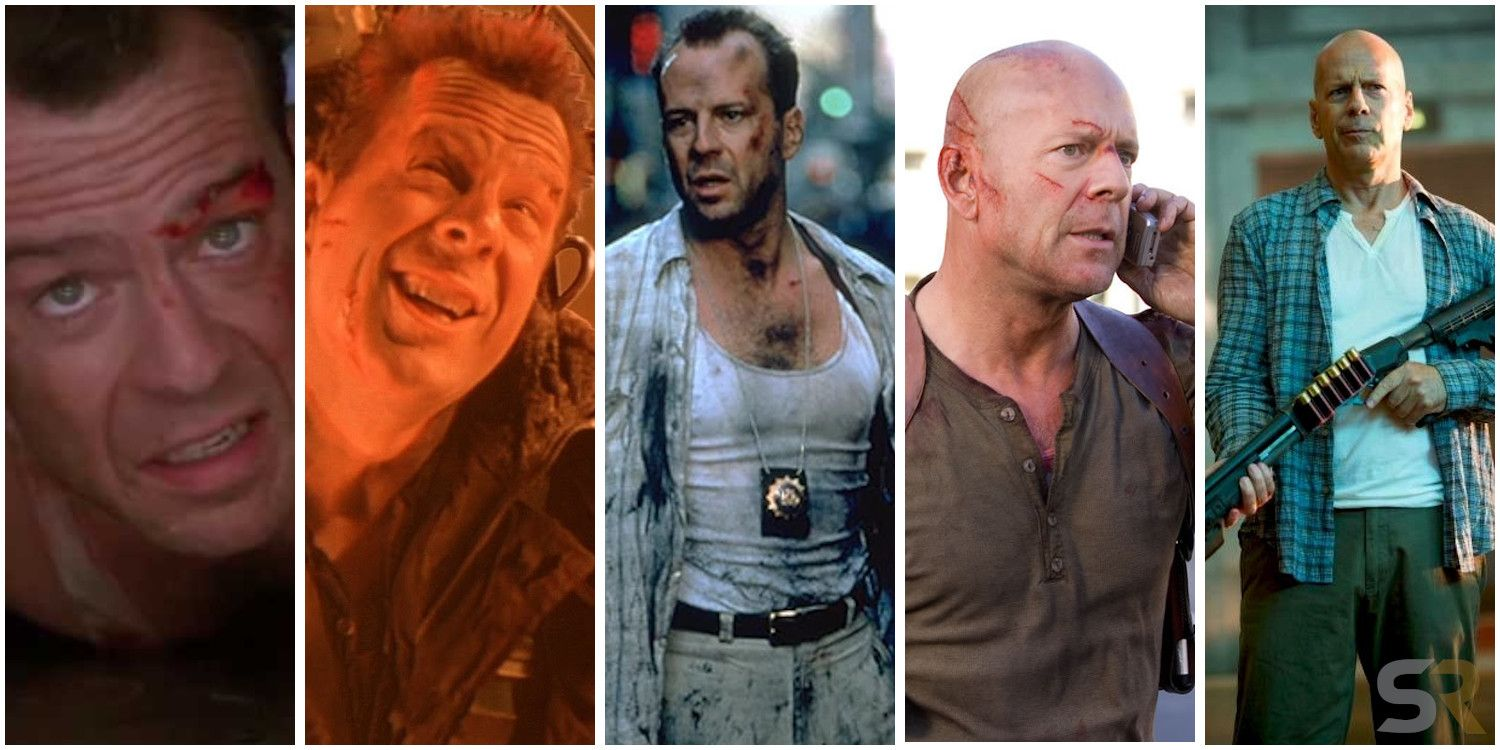 Die Hard Every Movie Ranked From Worst To Best Screen Rant