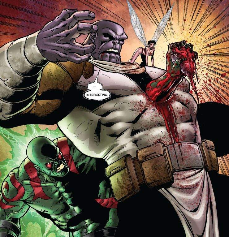 Drax Killed Thanos in Marvel Comics, Unlike The MCU | Screen Rant