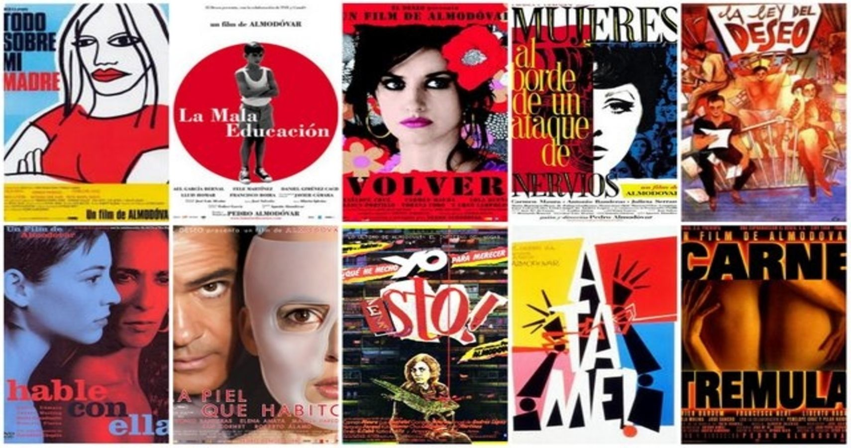 Pedro Almodóvar's 10 Best Films According To Rotten Tomatoes