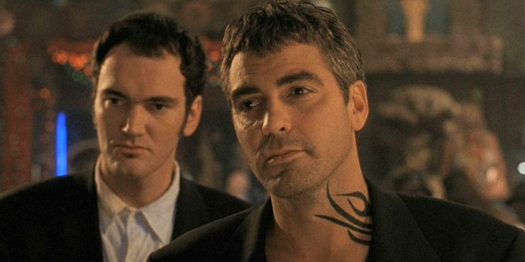 George Clooney's From Dusk Till Dawn Flame Tattoo Meaning From-Dusk-Till-Dawn-The-Gecko-Brothers