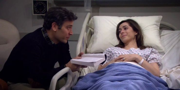 How-I-Met-Your-Mother-Season-Nine-9-Finale-Tracey-Death-Dying-Ted-Hospital.jpg (740×370)