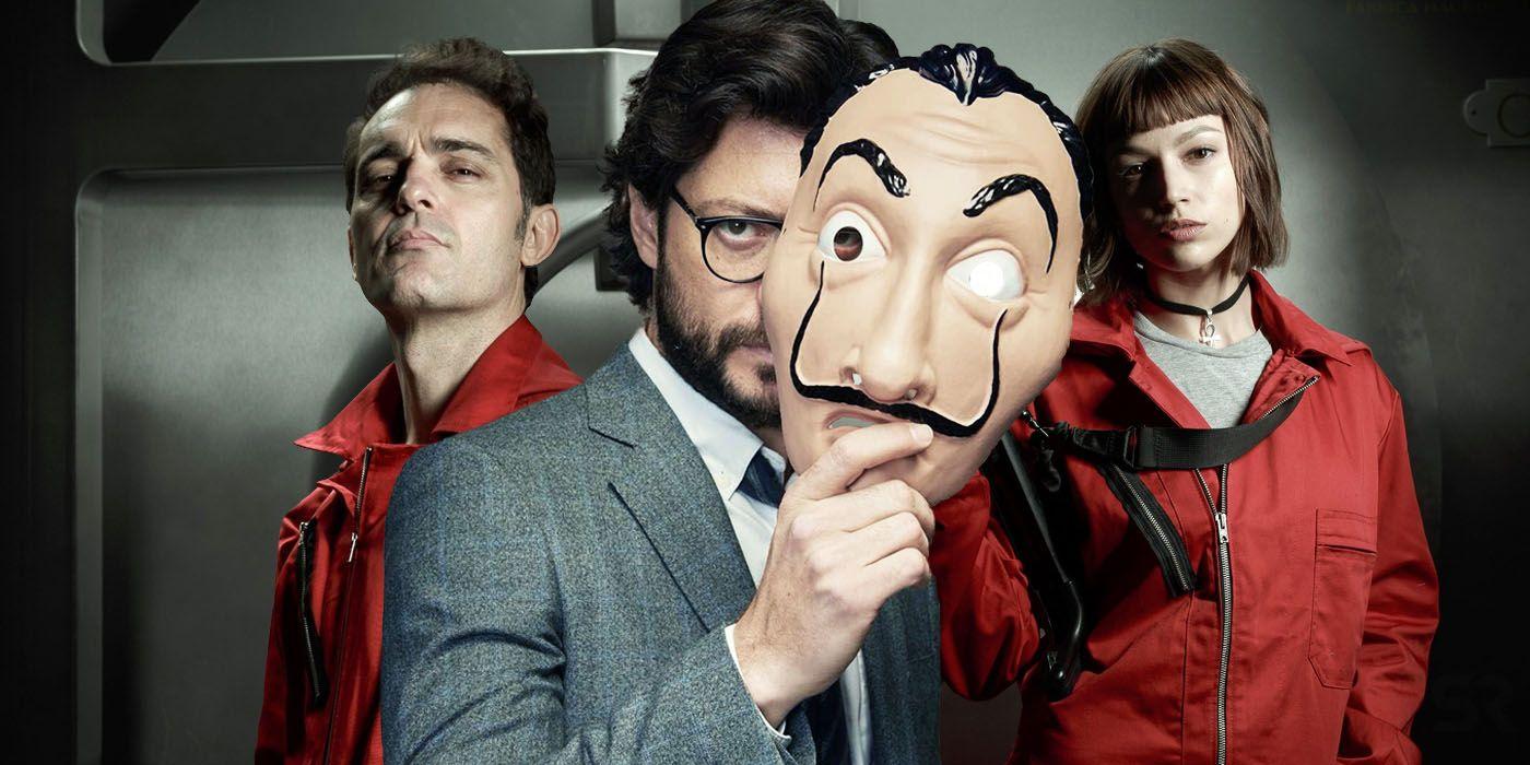 Money Heist, la casa de papel, dali mask, professor
