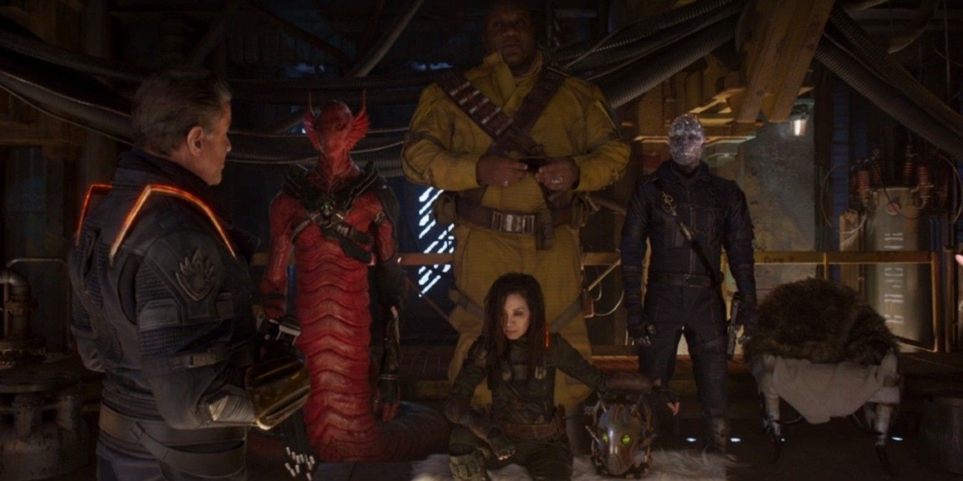 Original Guardians Of The Galaxy Unite In Vol 2 Set Photo