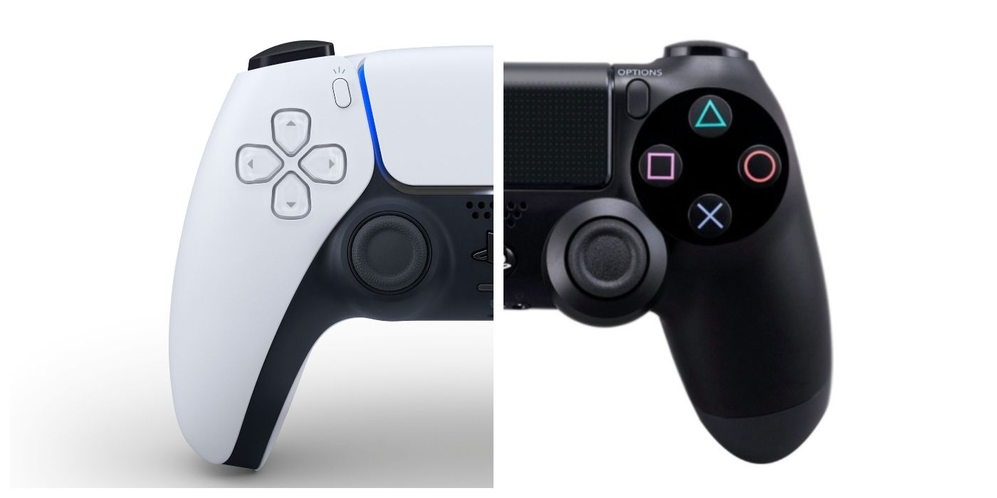 The difference between the DualSense and the previous controllers