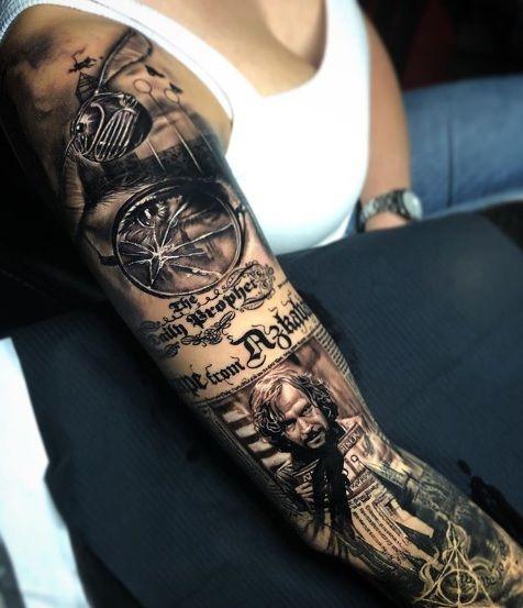 Animagus sirius tattoo black Soulmates by