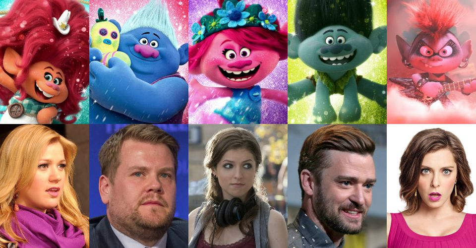 Trolls World Tour Voice Cast Guide What The Actors Look Like In Real Life