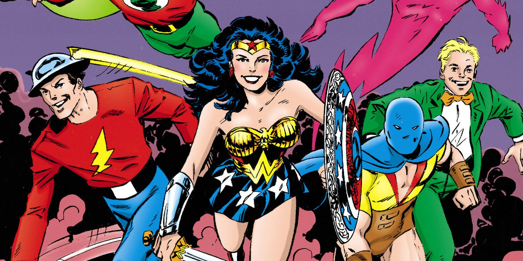 Why The Original Justice League Made Wonder Woman Their Secretary