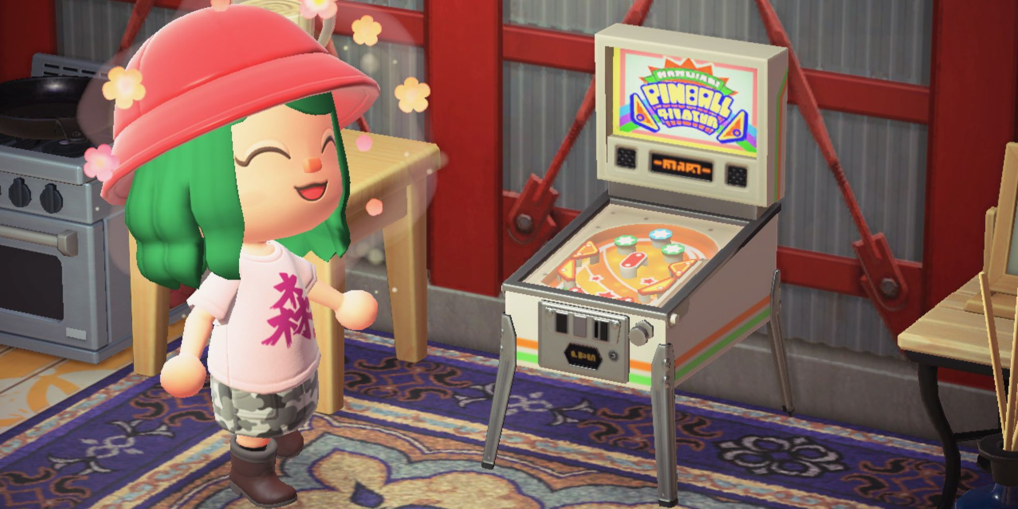 Animal Crossing New Horizons Old School Arcade