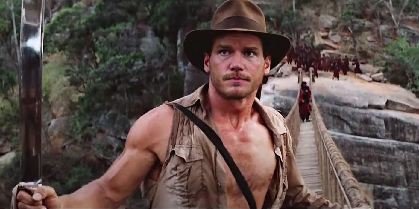 Chris Pratt Finally Plays Indiana Jones Thanks To Deepfake Video