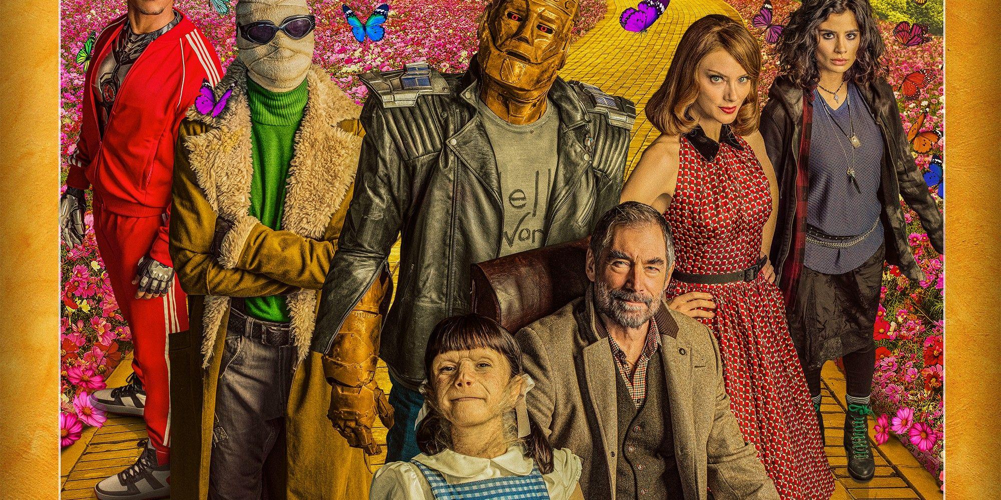 "Doom Patrol Season 2 Poster 48x32/"" 36x24/"" 21x14/"" New Season 2020 Silk"