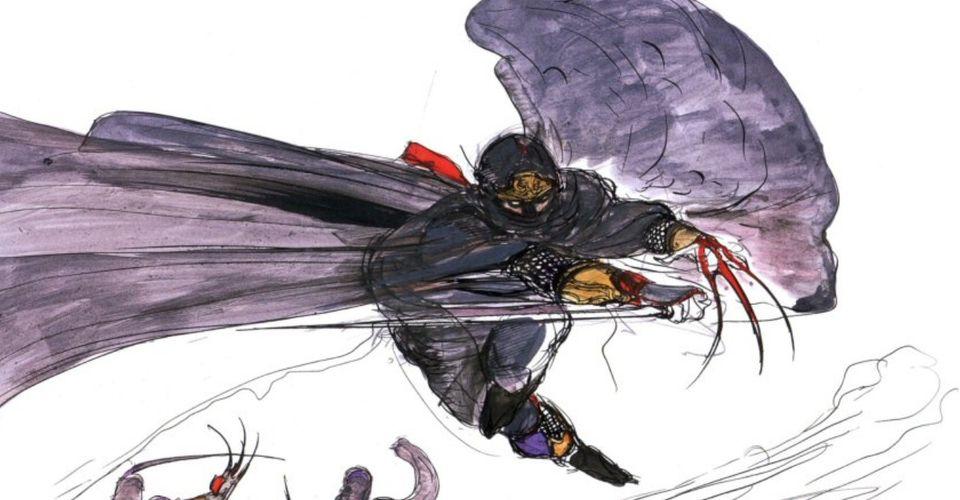 Por que o designer de personagens de Final Fantasy 3 nunca mais criou outro emprego no FF 2