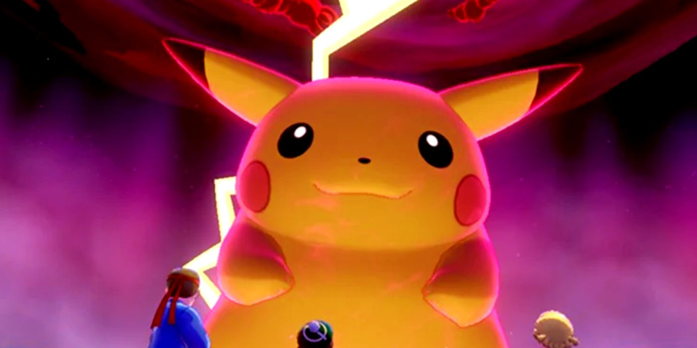 Pokémon Sword & Shield's Pikachu Debuts As A Raid Boss (Yes, Really)