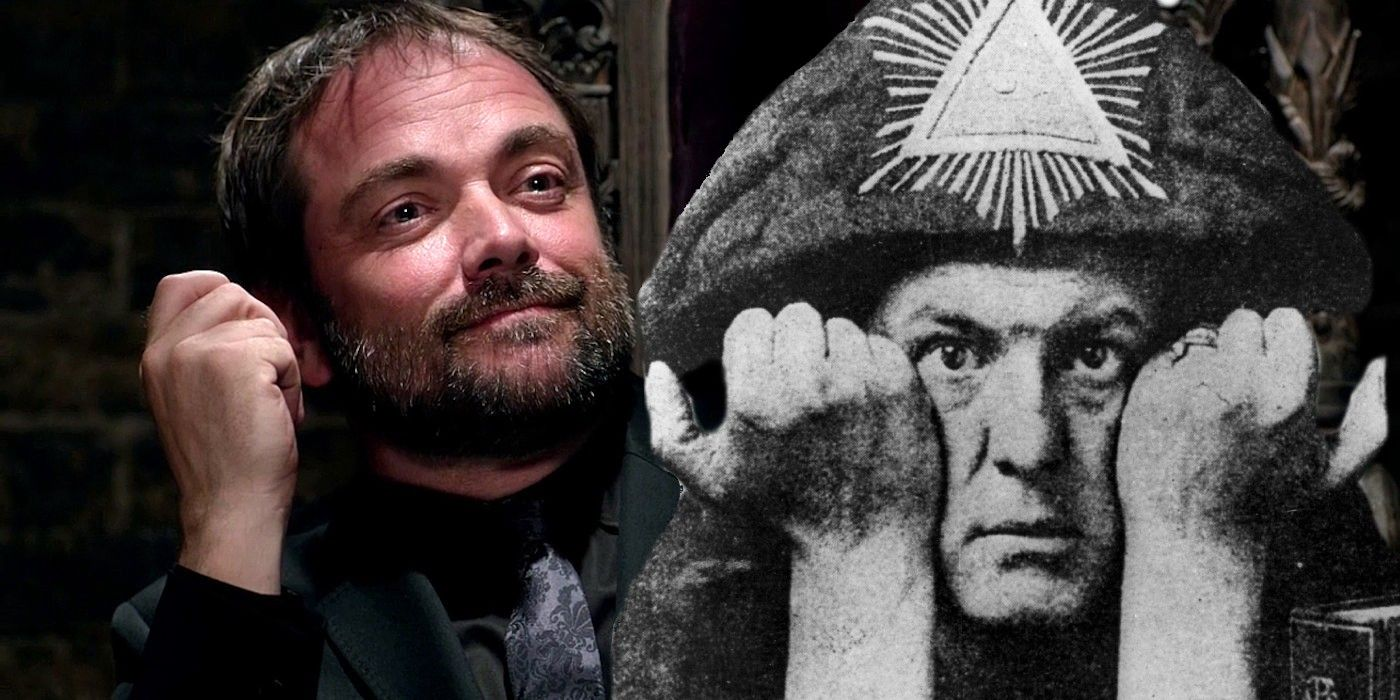 Supernatural The Real Life Influence Behind Crowley