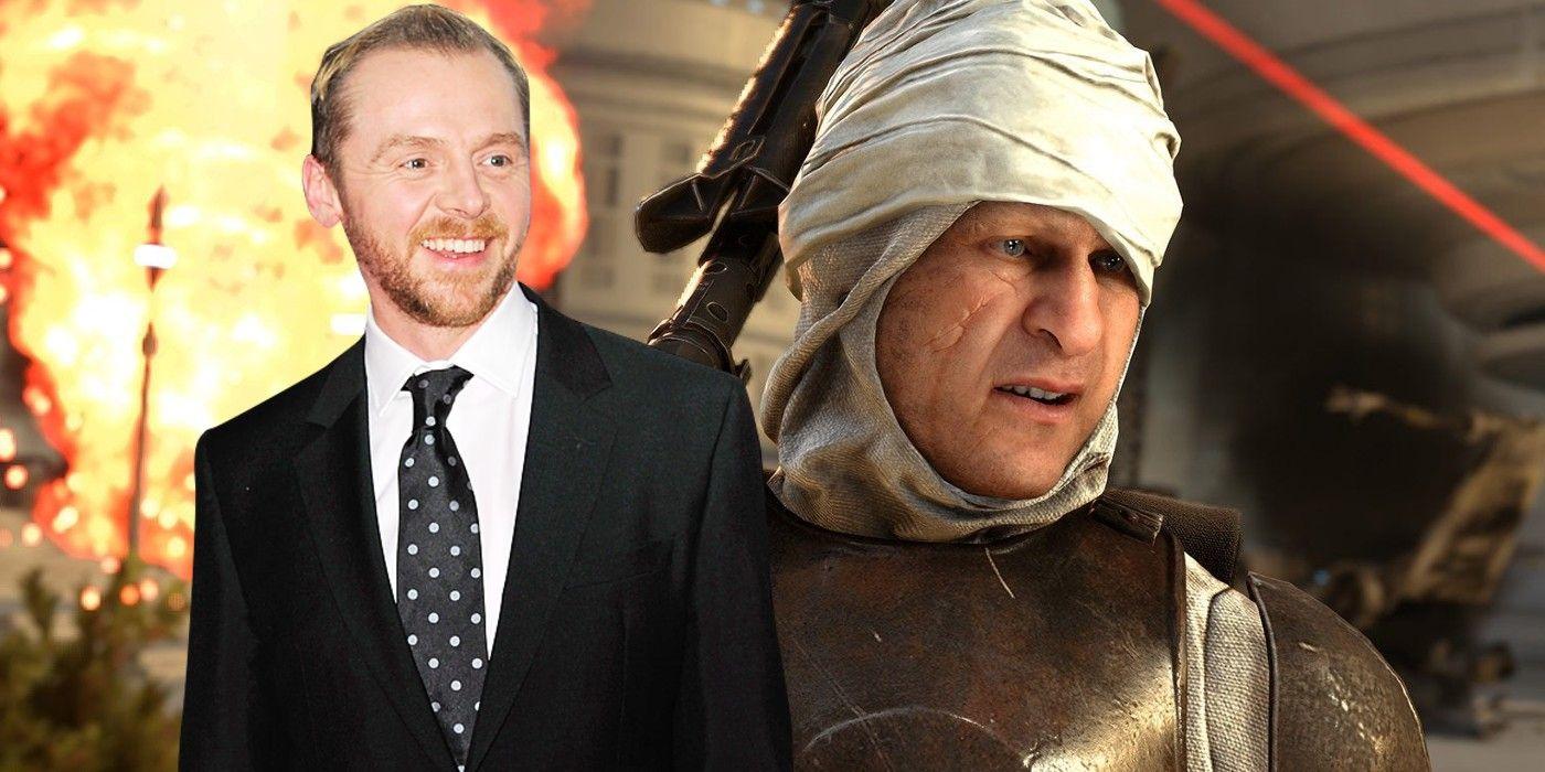 The Mandalorian: Simon Pegg Wants To Play Original Star Wars Character