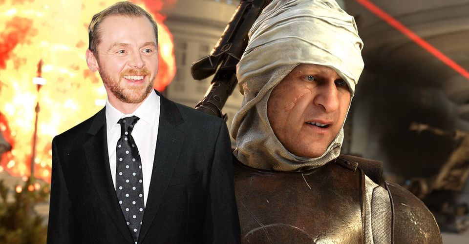 The Mandalorian: Simon Pegg Wants To Play Original Star Wars Character