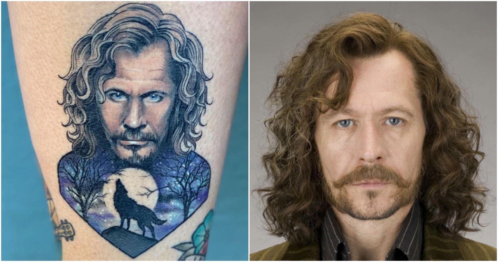 Black wand tattoo sirius Sirius Black's