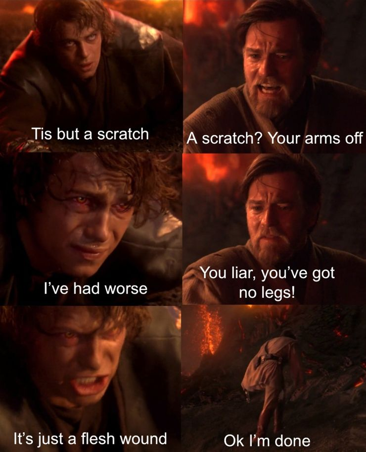 10 Humorous Star Wars Revenge Of The Sith Memes Fandomwire