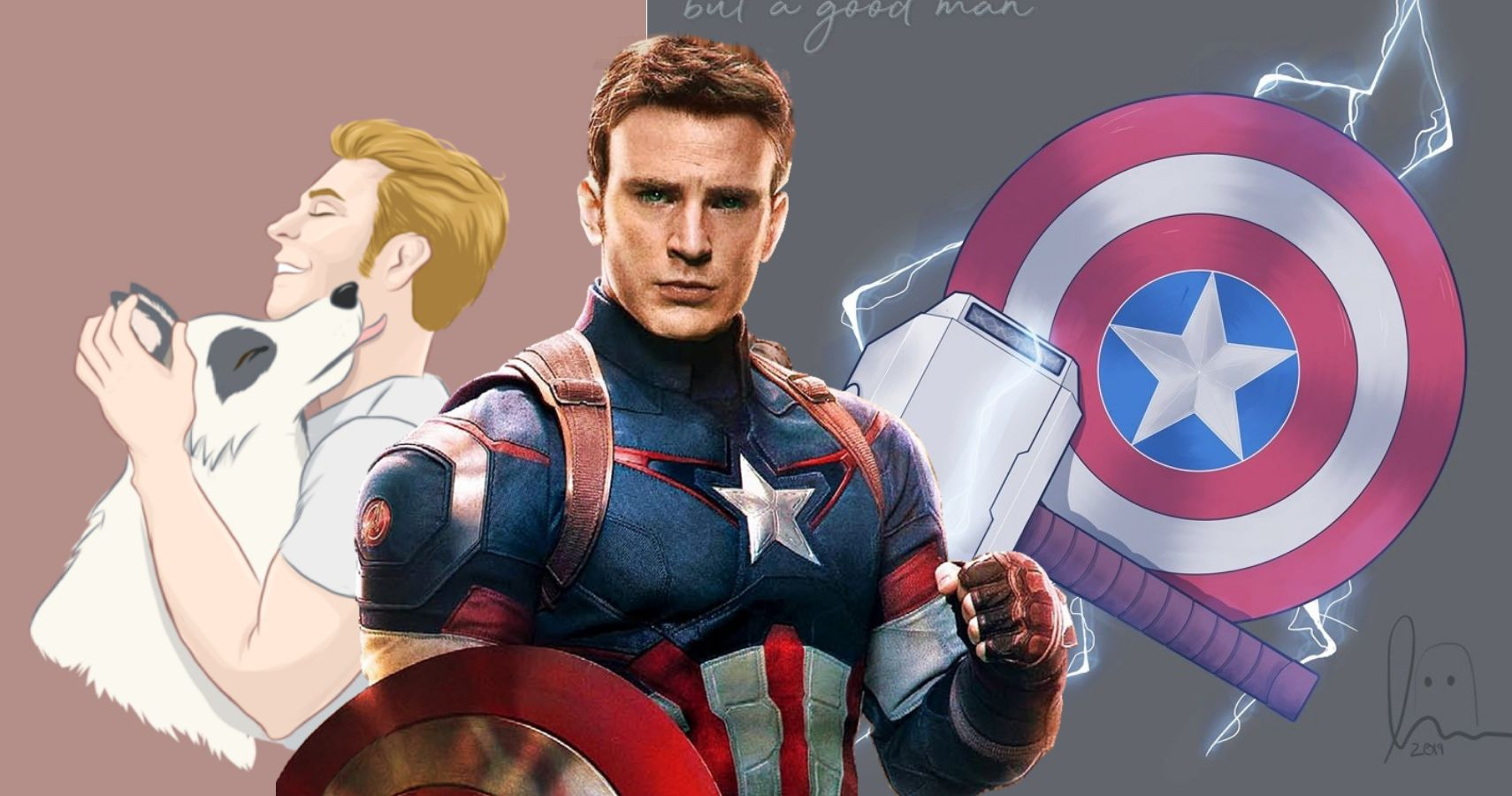 Captain America: 10 Awesome Pieces Of Steve Rogers Fan Art We Love
