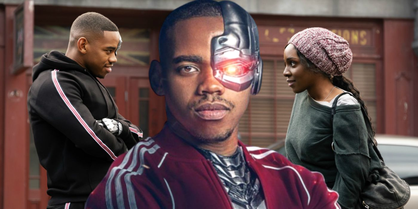 Doom Patrol Confirms Cyborg S Body Doesn T Get In The Way Of His