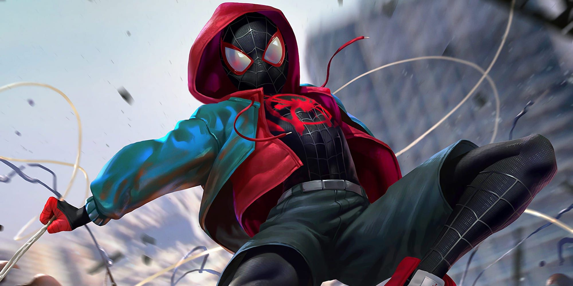 Miles Morales Had A Disastrous First Attempt As Spider-Man