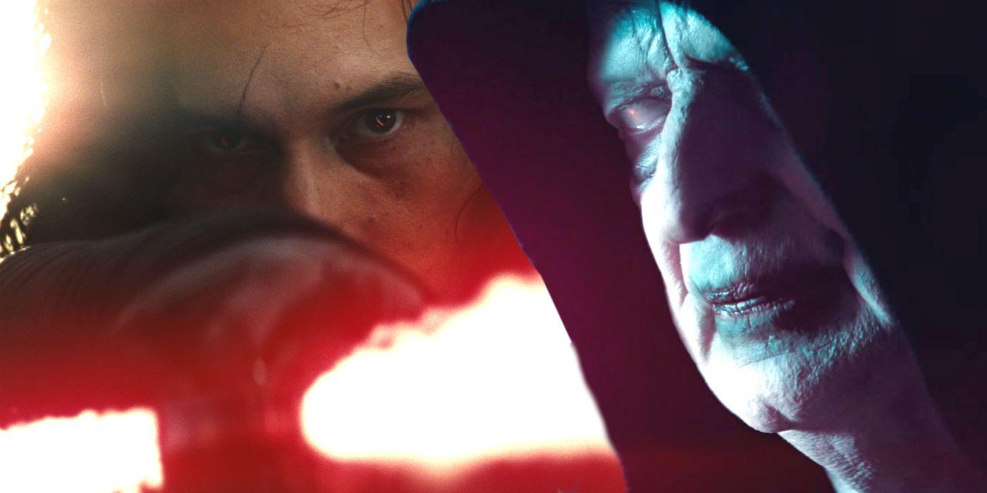 Star Wars Kylo Ren Palpatine