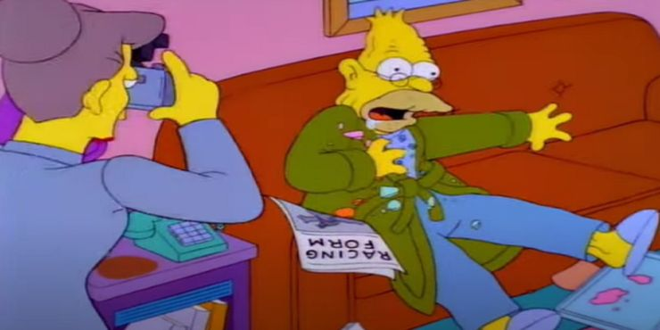 The Simpsons 10 Worst Things Grandpa Simpson Ever Did To Homer