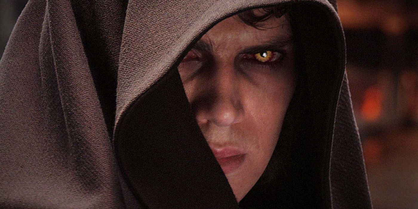Star Wars Why Anakin S Eyes Turn Yellow In Revenge Of The Sith