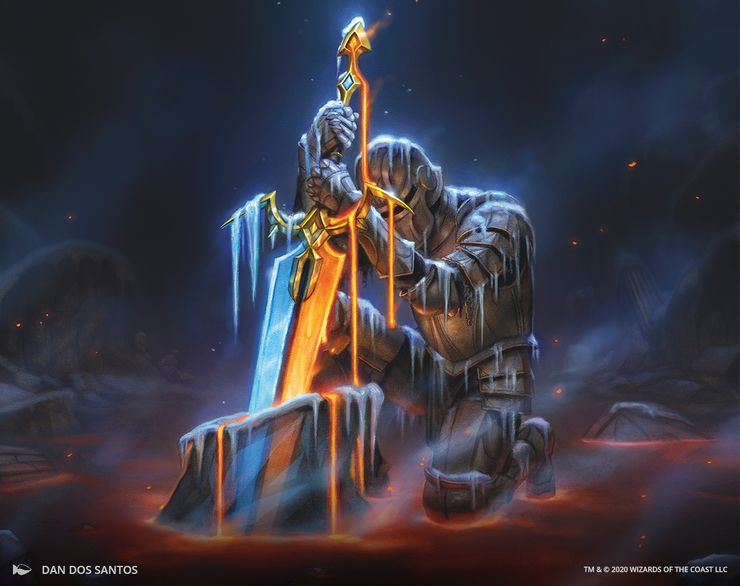 New Magic: The Gathering Sword Of Fire & Ice Is Basically A Dark Souls  Crossover