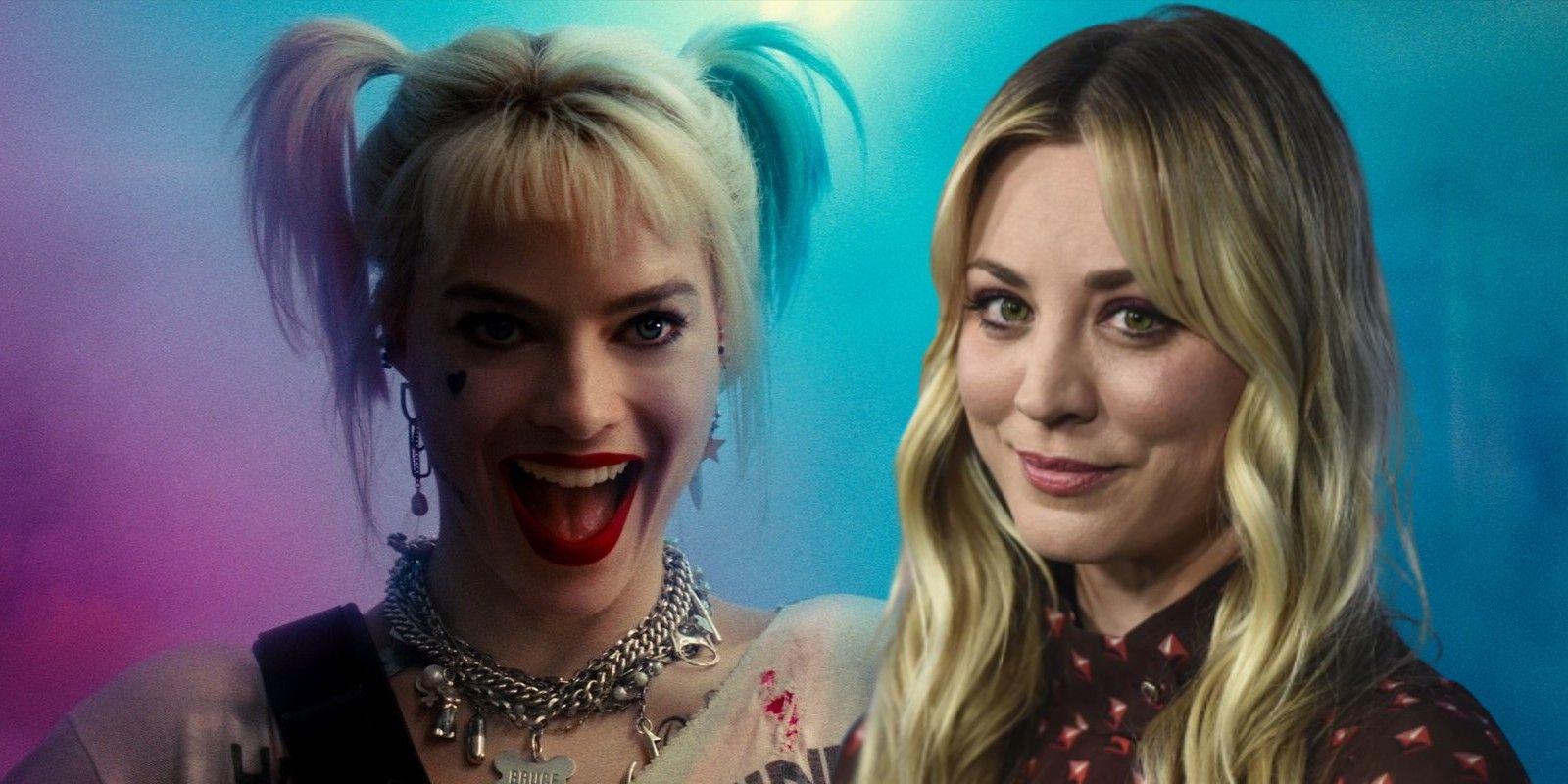 Harley Quinn S Kaley Cuoco Debunks Rumors Of Feud With Margot Robbie