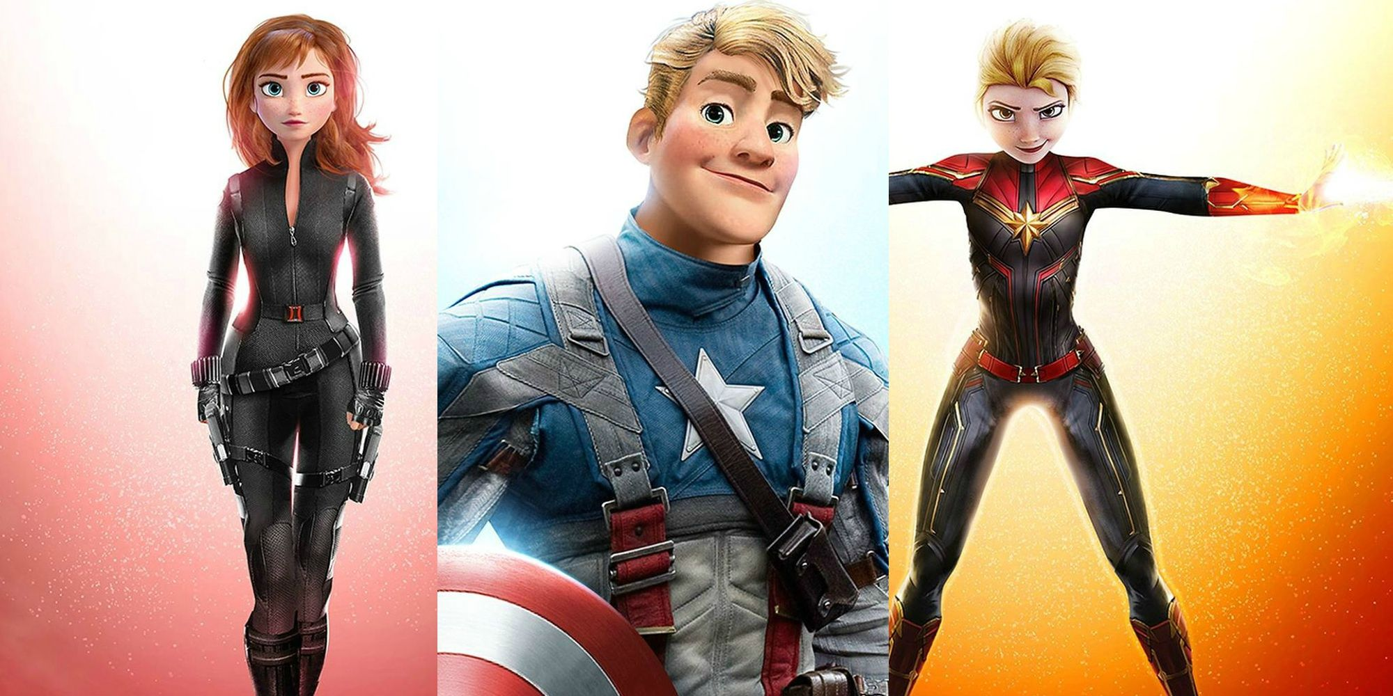 The Avengers Look Amazing As Disney Animated Characters