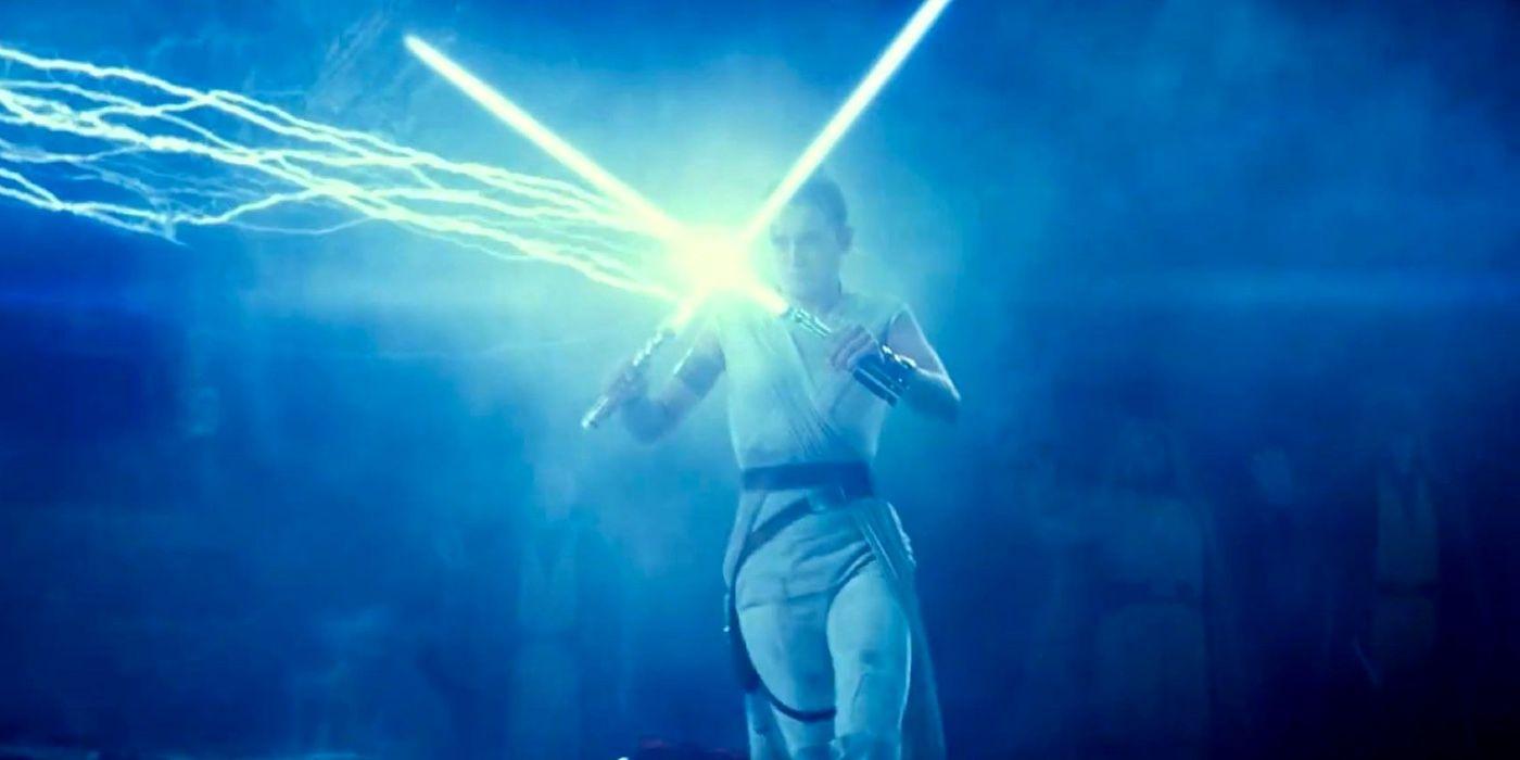 Rise Of Skywalker Force Ghosts Join Rey Against Palpatine In Fan Edit