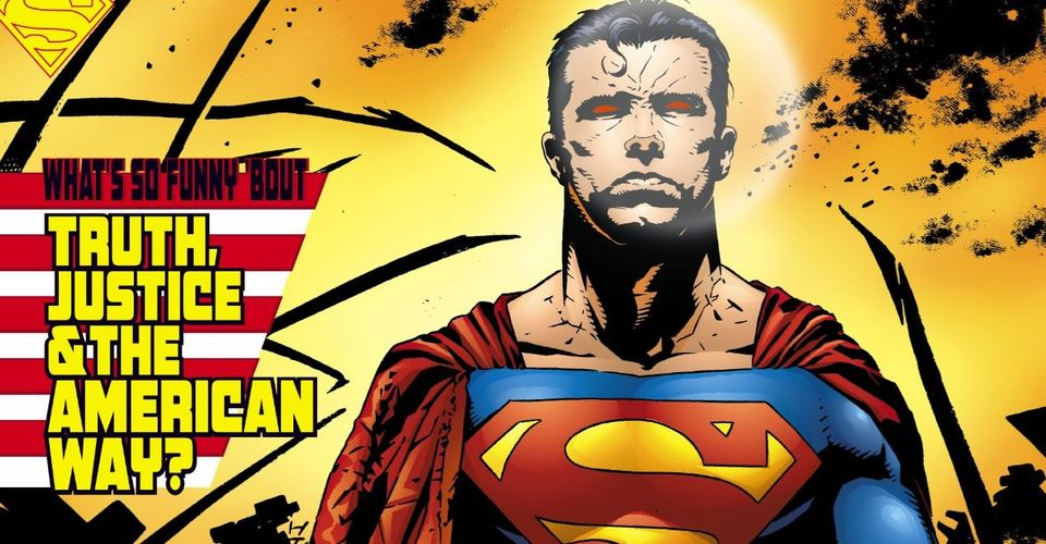 The Origins Of Truth Justice And The American Way In Comics