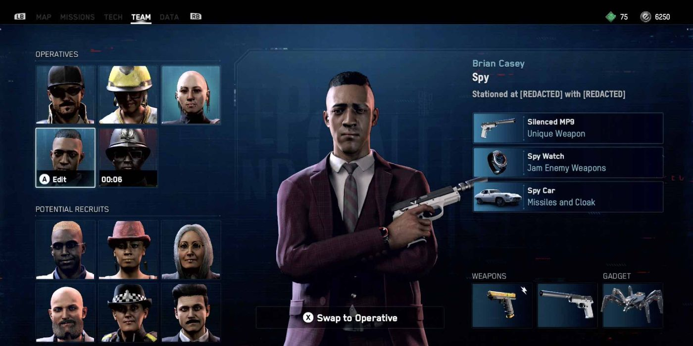 Watch Dogs Legion Leaked Screenshots Show Spy Police Officer Hooligan Characters