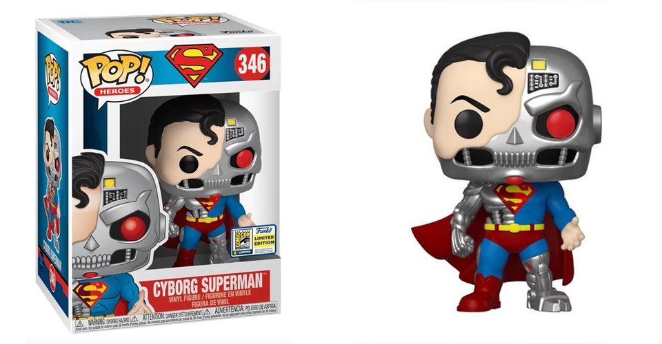 cyborg superman funko header - Funko de Cyborg Superman ya disponible en la Comic Con