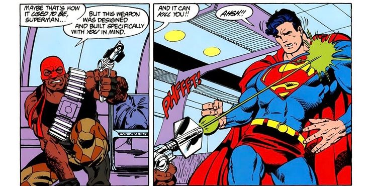 Suicide Squad: Bloodsport vs Superman in The Comics
