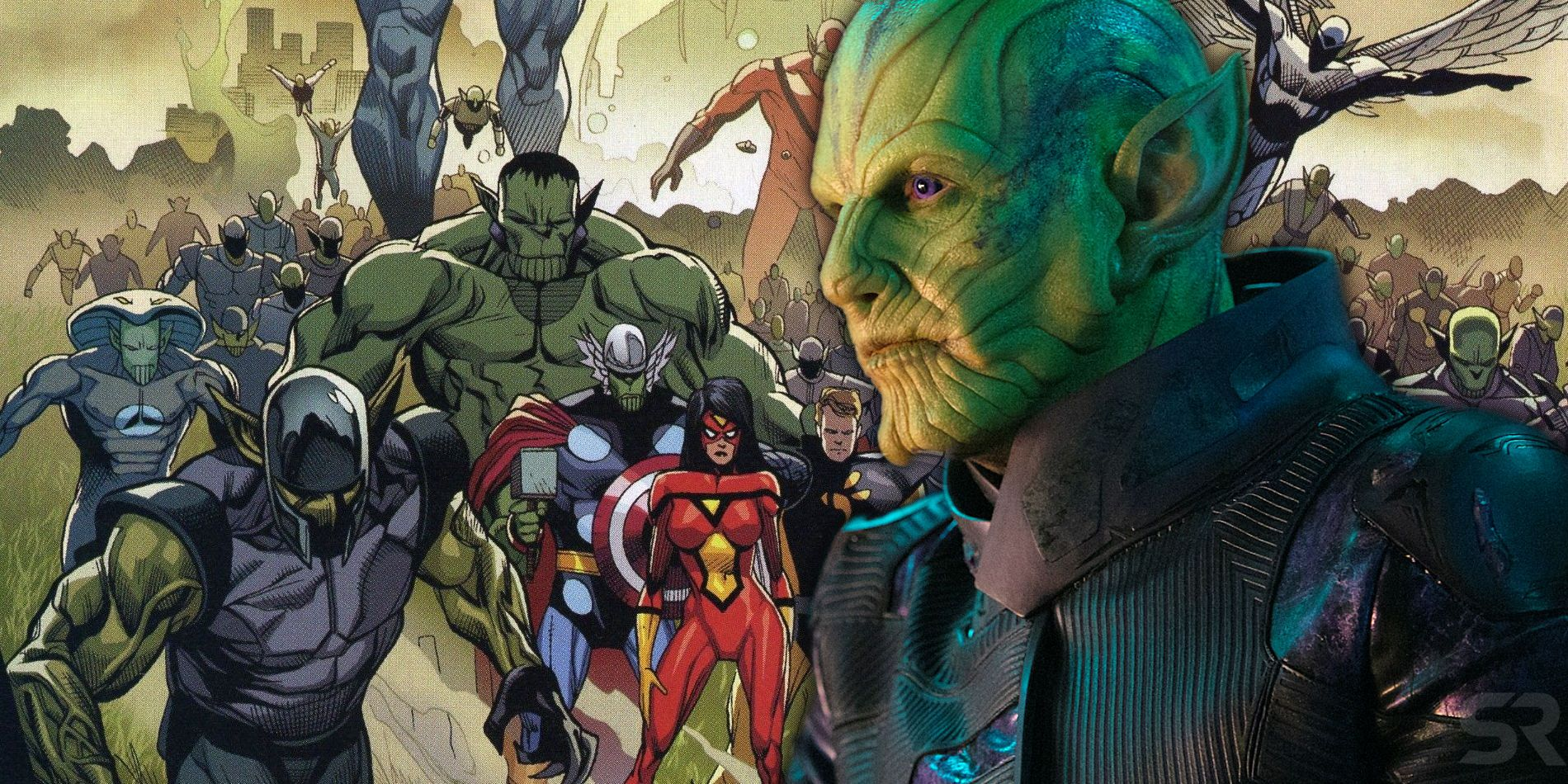 How The MCU's Secret Invasion Will Be Different To The Comics