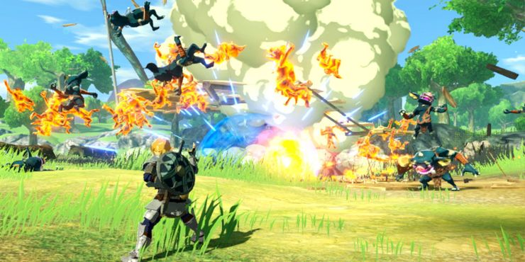 Age Of Calamity S Multiplayer How Zelda With Friends Will Work