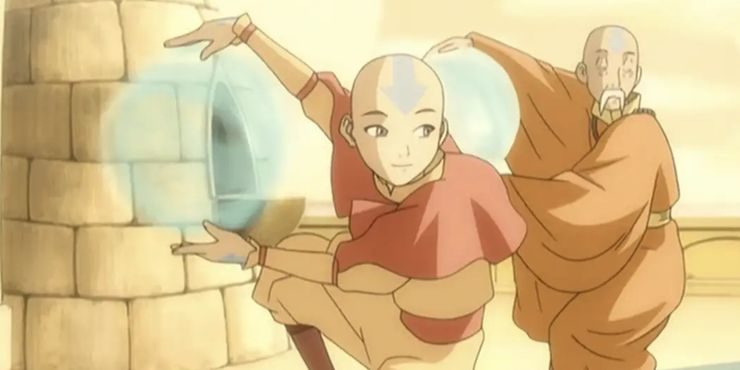 Avatar What Aang S Arrow Tattoos Mean In The Last Airbender