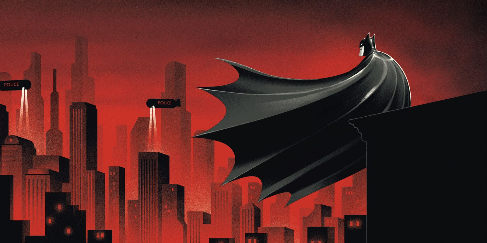 Incredible Batman: The Animated Series Art From New Book [EXCLUSIVE]