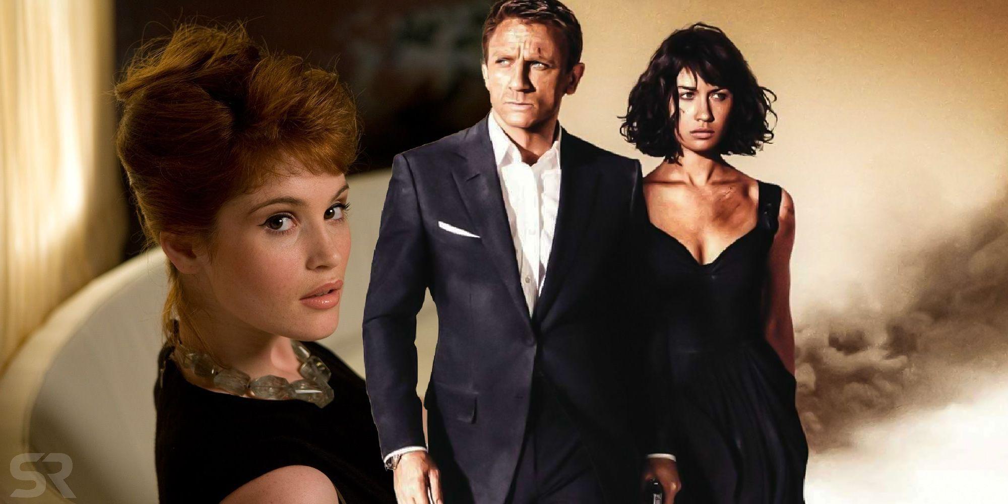 Bond stana katic james Stana Katic